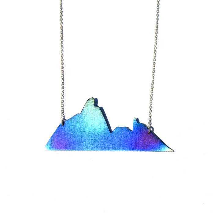 Joya Diseño Colgante Blue Mountain