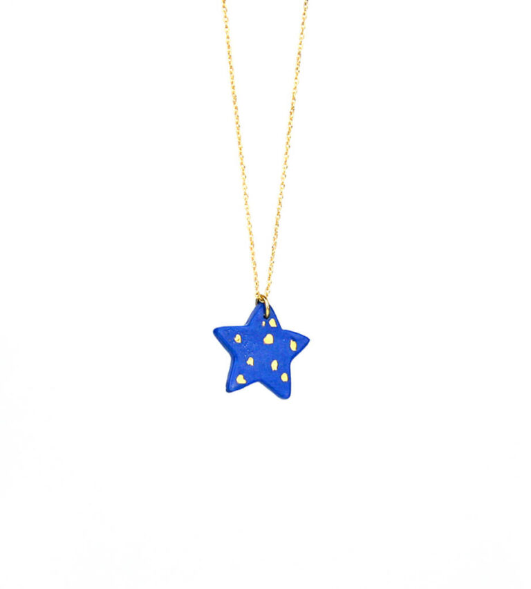 Joyería Porcelana Colgante estrella