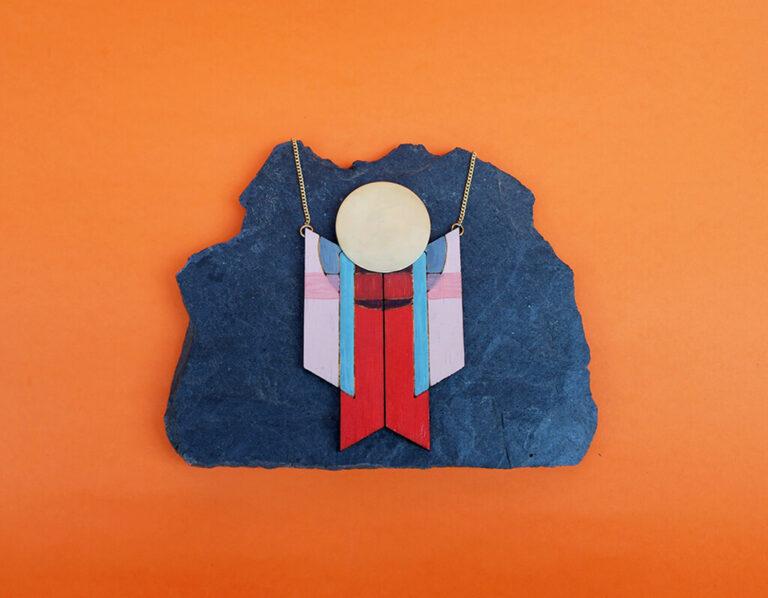 Colección Arte Colgante Memphis Joyería Sostenible