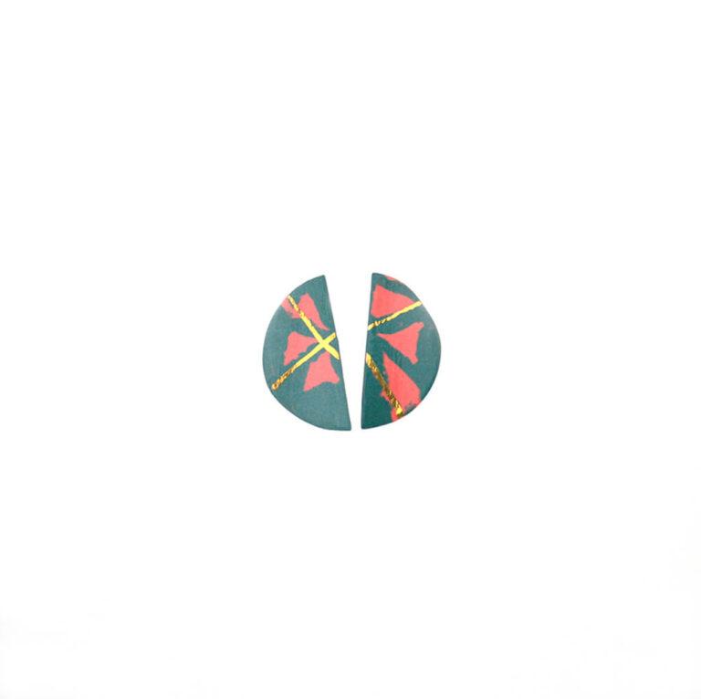 Colección Piezas Únicas Pendiente Geocircle