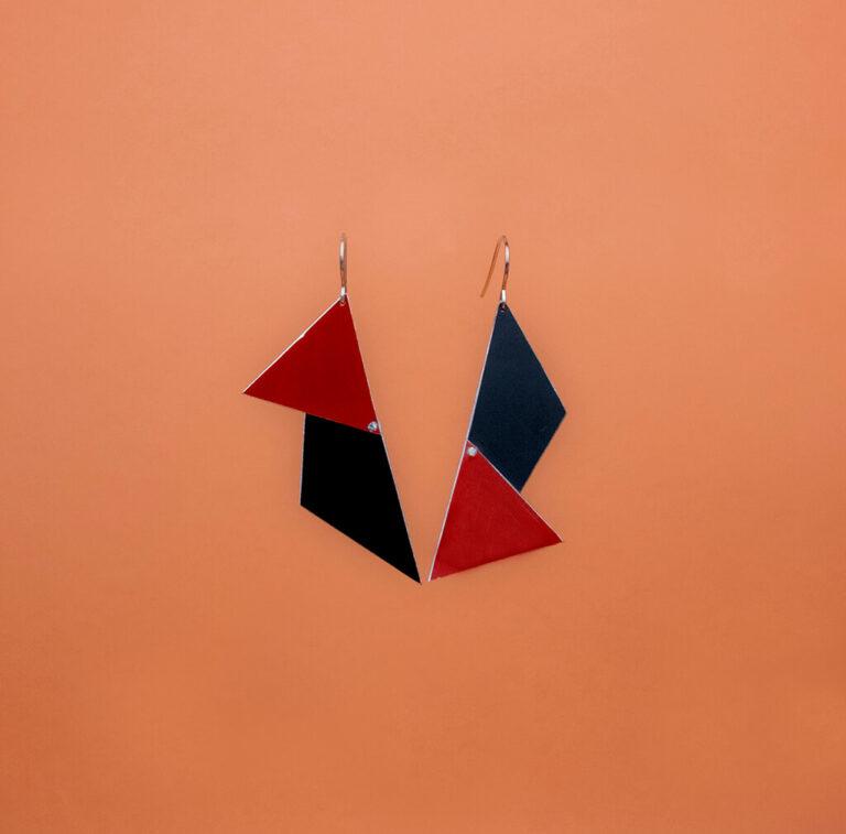 Colección Pendientes Originales Pendientes Geometric Cut