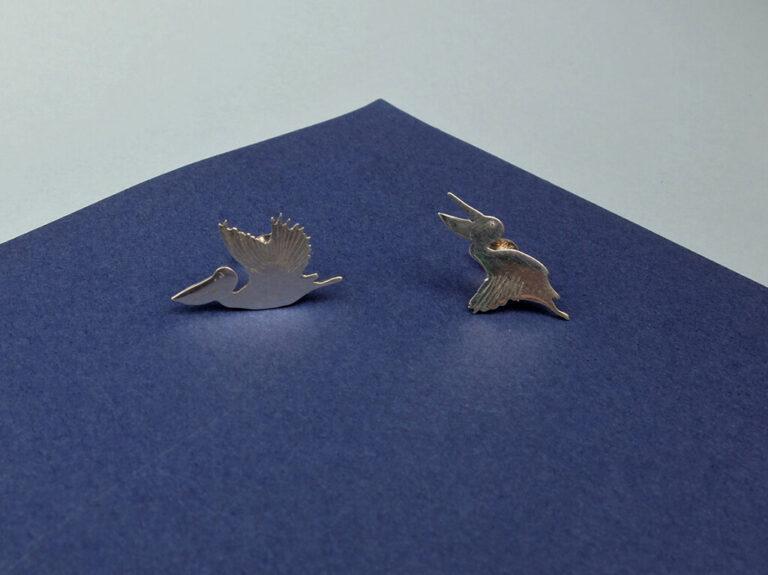 Colección Pendientes Originales Pendientes Pelicano