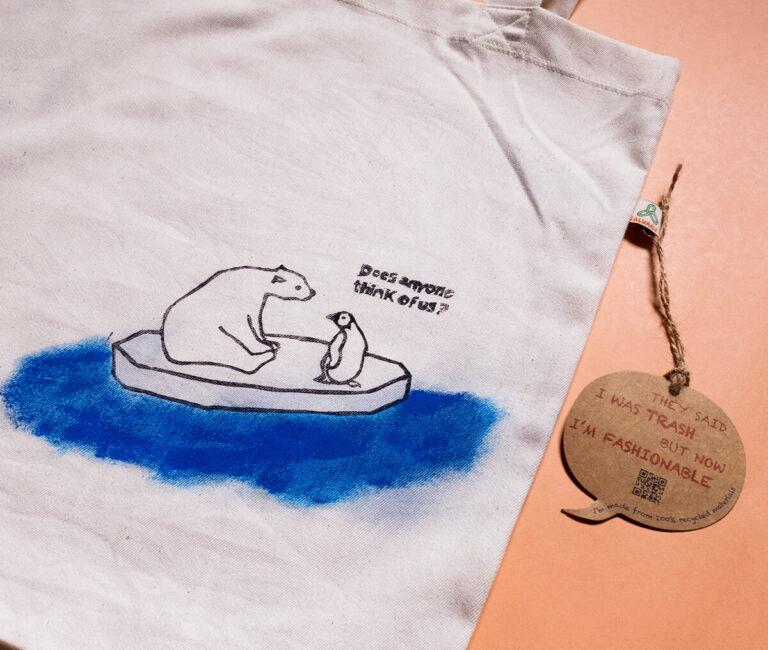 Tote Bag La isla de los osos polares